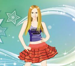 Avril Lavigne Dress Up Game